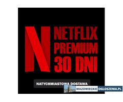 NETFLIX 31 DNI PREMIUM PL + HBOgo  Wysyłka 24h i Gwarancja!