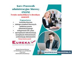Pracownik administracyjno-biurowy online