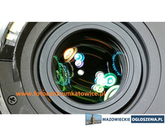 Czyszczenie, konserwacja naprawa obiektywu Canon Nikon Sigma Tamron