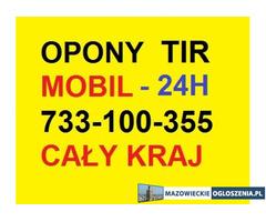733-100-355 Mobilna Wulkanizacja TIR ciężarowa 24h Warszawa